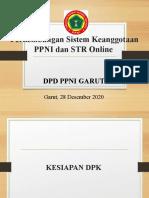 Progres Sistem Keanggotaan PPNI dan STR Online