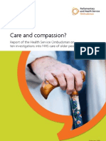 Care and Compassion Report