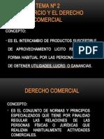 EL COMERCIO Y EL DERECHO COMERCIAL