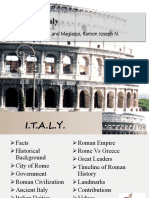 Ancient Italy Report (1)