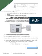 TP programmation lecteur de code utilisateur 2h 2009-09