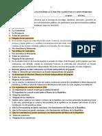 PRUEBA SABER CIENCIAS ECONÓMICAS Y POLÍTICAS DÉCIMO CUARTO PERIODO