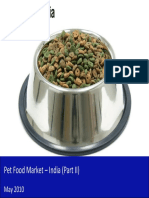 Pet Food Market in India 2010 - Trends, Competition and Key Developments