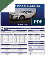 Teste Folha-Mauá - Volvo C30