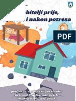 """""""Djeca i obitelji prije, tijekom i nakon potresa"""""""