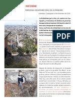 Comunicados-Informes sobre las fosas en Acámbaro, GTO