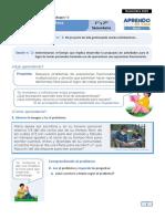 Ficha de Autoaprendizaje Semana 2 Noviembre Matemática Ciclo Vi