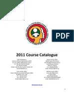 CAFS 2011 Course Catalouge (final)