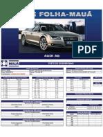 Teste Folha-Mauá - Audi A8 V8 FSI