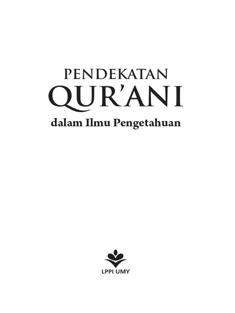 Pendekatan Qurani e Book PDF   PDF