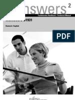 Manual Placa Base Fujitsu-Siemens D1931