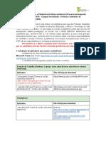 instruções de acesso a plataforma