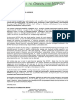 02.16.2011 Greening the MTPDP Letter to the President