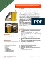 OMS2K-C2016 Solar Powered Medium Intensity Obstruction Light_datasheet_v202008
