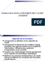 Formation Pratique Sur LAudit Interne 1