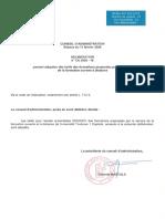 Tarifs FOAD - Année universitaire 2020-2021