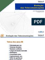 Palestra Evolução das Telecomunicações