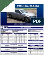 Teste Folha-Maua - Mercedes E63 AMG V8 6.3