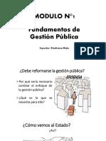 Módulo 1 - Gestión Pública