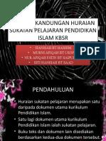 Analisis Kandungan Huraian Sukatan Pelajaran Pendidikan Islam Kbsr