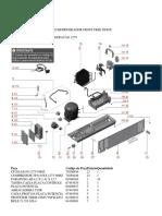 Electrolux DF80X Sistema Refrigeração