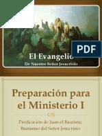 Evangelios 05 - Principio del Ministerio - Bautismo.pptx