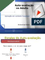 Escalas de Auto-avaliação dor 2007 - 2011
