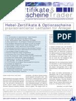 Zertifikate Und Optionsscheine Trader Leitfaden