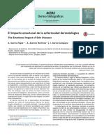medicina psicosomática en enfermedades dermatológicas