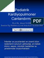 Pediatrik Kardiyopulmoner Canlandırma Prof. Dr. Ahmet NAYIR