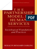 Partnership model in human services