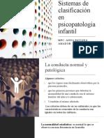 Sistemas de clasificación en psicopatología infantil