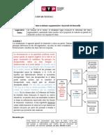 S01.s2- Párrafo de desarrrollo y esquema de ideas (material) AGOSTO 2020