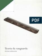 Peter Bürger - Teoria da Vanguarda.pdf