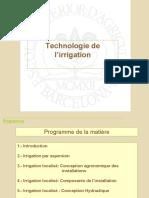 cours 1  Technologie de l'irrigation