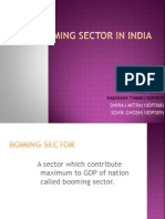 BOOMING SECTOR