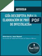 039. MasterTESIS - ARTICULO Guía descriptiva para la elaboración de protocolos de investigación 2006.pdf