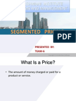 Pricing Segmentation
