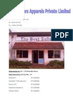 BEST SELLERS APPARELS PVT LTD