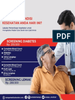 PAKET SCREENING DIABETES NARAYA MEDICAL CENTER
