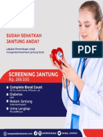 PAKET SCREENING JANTUNG NARAYA MEDICAL CENTER