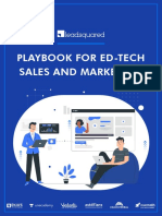 EdTech Playbook for Sales and Marketing