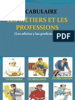 VOCABULAIRE LES PROFESSIONS