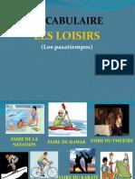VOCABULAIRE LES LOISIRS