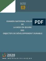 Rapport National 2020 sur la mise en oeuvre par le Royaume du Maroc des Objectifs de Développement Durable (Version Française).pdf