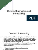 103 QM demand estimation and forecasting
