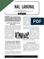 El Contrato de Trabajo - Jornal Laboral - José María Pacori Cari