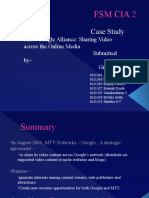 MTV GOOGLE Alliance Case Study