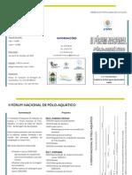 Folheto II Forum Nacional PA