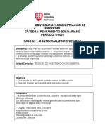 GUÍA DE APRENDIZAJE Técnicas de Investigación Documental